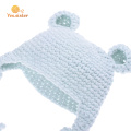 100% acrylique bébé crochet bonnet super doux