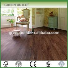 Big Size Dark Coffee Brown Engineered Oak Wood Flooring
