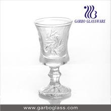 Verre en verre arabe, coupe en verre de motif