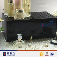 Vente en gros de cosmétiques comptoir de parfum en acrylique avec tiroir