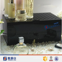 Wholesale Cosmetic Counter Top Acrylic Perfume Display Stand with Drawer