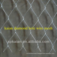 hot sale anping KAIAN galvanized diamond hole mesh
