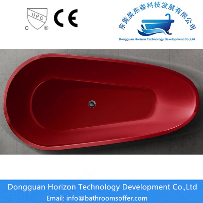 Dark Red Bathtubs