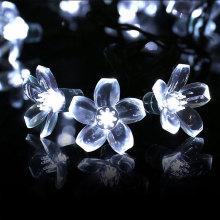 Guirlande de fleurs solaire lotus double fleur