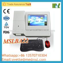 L'analyseur de biochimie Semiautomatique MSLBA22M CE et ISO fonctionne avec la souris du clavier