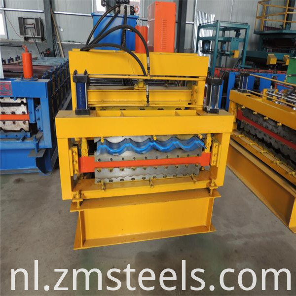 aluminium roofing sheets machine