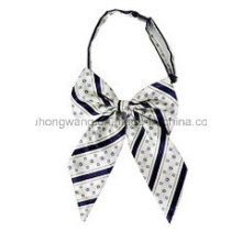 Promotion Lady Polyester Collar Flower Bow Tie