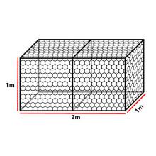 Top Sale Hexagonal Galfan Wire Netting Welded Wire Mesh Fence Galvanized Reno Mattress Protection Woven Gabion