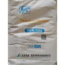 Dióxido de titânio de grau plástico