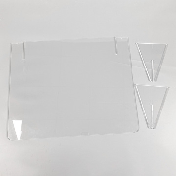 Apex Clear Acrylic Protective Barrier Sneeze Guard