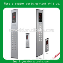 Elevador toque vidro cop e lop elevador padrão botão painel policial e lop elevador policial painel
