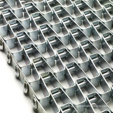 Mesh chain of sludge dryer high temperature food line conveyor belt chain