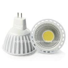 MR16 5W 1xcob 450lm blanco 6000-6500k luces LED Spot (DC 12V)