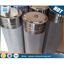 stainless steel corny keg dry hop filter for cornelius woven 300 micron mesh filter kegs