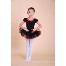 Las muchachas del vestido del tutú del nuevo diseño muchachas del bebé bailan el vestido del bailarín de ballet del vestido