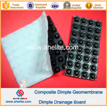 HDPE Dimple Drainage Board with Non Woven Geofabric