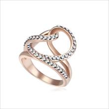 VAGULA блестящими стразами кольцо дизайн моды