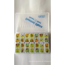 Urea pädagogisches Spielzeug Domino Spiel mit anpassen heißen Transferdruck