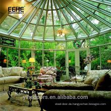 Veranda-Fertighaus und Kuppelhaus in Indien im Freien Preis für Glas