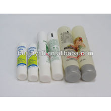 free sampling clear plastic round tube
