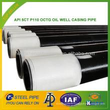 API 5CT P110 OCTG OIL BOITE DE BOIS