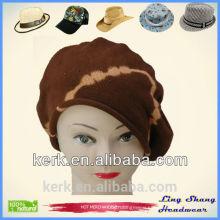 2015 knitted cotton hat Women's winter hat autumn knitted beret hat headdress, LSC02