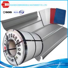 PPGI Material de construcción de la bobina de acero galvanizado para la hoja del tejado del color