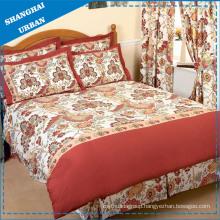 4PCS Cotton Polyester Duvet Cover Set