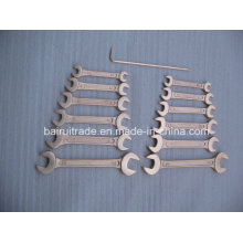 7mm Mirror Surfaced Double Open End Wrench for China