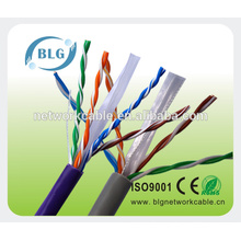 China fabricante cable del cable de la red del cable del ADSL de utp cat6 cable