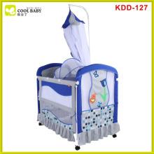 Berço de bebê multi-funcional do aço inoxidável