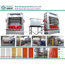 Multi-Layer-Panel-Türen Hydraulische Heißpressmaschine
