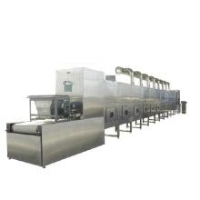 304 stainless steel  spice fruit chips konjac chrysanthemum microwave tunnel mesh belt dehydrating machine high efficiency.