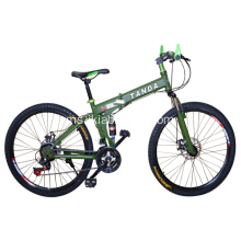24 Inch Mountain Bike dengan Frame Steel