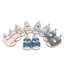Zapatos de bebé Sandalias Bowknot Suela blanda Mocasines para niños pequeños