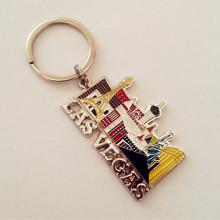 Лас-Вегас Сувенир металлический подарок брелок с цветом (F1421)