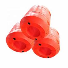 Durables pontones plásticos de dragado de PE Flotadores para tuberías y mangueras
