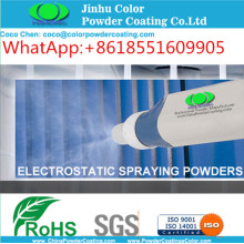 elektrostatik semprot polyester cat TGIC powder coating thermosetting