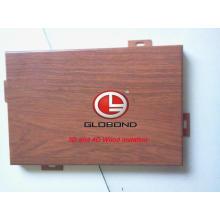 4D деревянная композитная облицовка