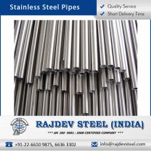 Peso ligero, duradero, robusto, estándar de acero inoxidable sin costura de tubos de exportación