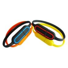 Faixa de pulso Pulseira Estilo USB 2.0 U vara