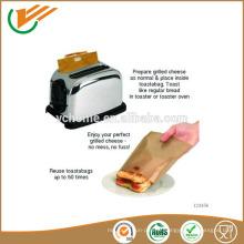 2015 100% sac à griller PTFE réutilisable antiadhésif sandwich facile