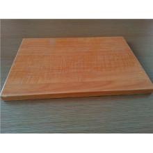 Painéis de favo de mel de textura de madeira de 30mm para portas