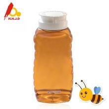 Natural polyflower honey on face