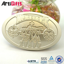 New promotional products wholesale antique brass belt buckle