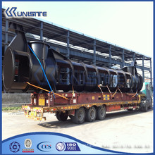 manufacturer wear resistant steel loading pipe for dredger (USC4-014)