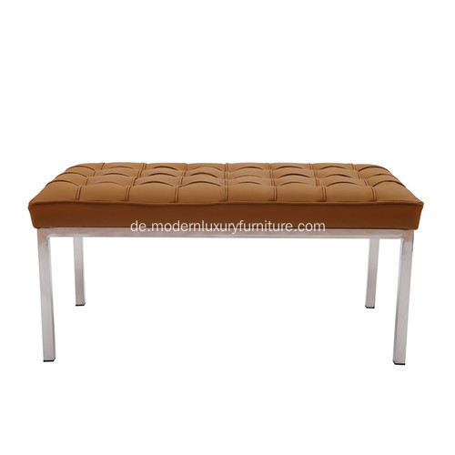 Florence Knoll Brown Leder Replik