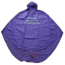2011 pvc Polyester rain poncho