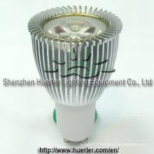 3x2w 6w LED GU10 ampoule lumineuse réglable