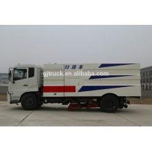 Barredora vial Dongfeng y Camión de limpieza para 12000L de capacidad con depósito de agua y polvo